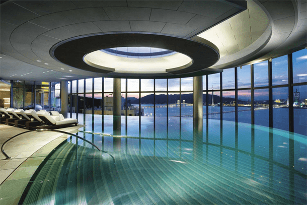 Superieur Crown Macau, Taipa Island. Crown Macau, Taipa Island Hotel Has A Cool  Indoor Swimming Pool ...