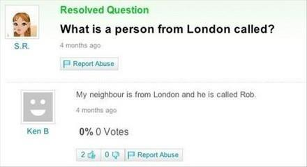 Hilarious Yahoo Questions Answers Will Blow Your Mind - 27 hilarious yahoo questions